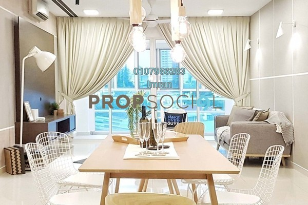 For Rent Condominium at Mont Kiara Meridin, Mont Kiara Freehold Fully Furnished 3R/3B 6.5k