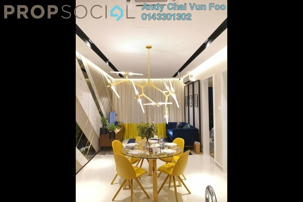 For Sale Serviced Residence at Trion @ KL, Kuala Lumpur Freehold Semi Furnished 3R/3B 817k