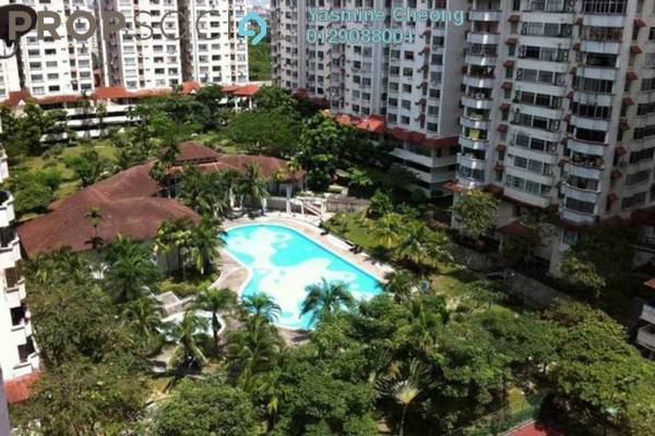 For Sale Condominium at Bukit OUG Condominium, Bukit Jalil Freehold Fully Furnished 3R/2B 365k