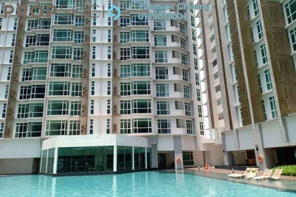 For Sale Condominium at Central Residence, Sungai Besi Freehold Semi Furnished 2R/2B 500k
