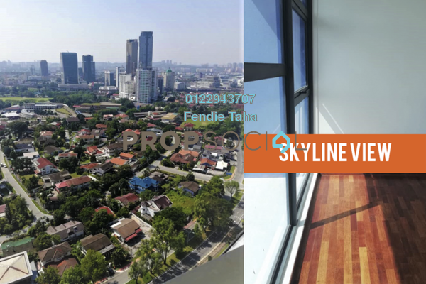 For Rent Serviced Residence at PJ Midtown, Petaling Jaya Freehold Semi Furnished 1R/1B 2k