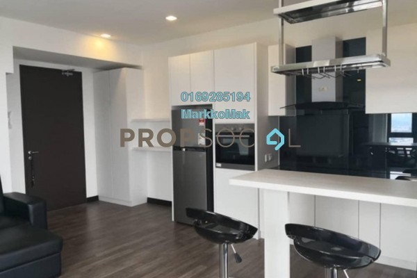 For Rent SoHo/Studio at Landmark II, Bandar Sungai Long Freehold Fully Furnished 0R/1B 1.2k