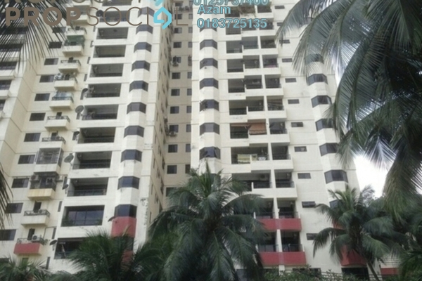 For Sale Condominium at Fraser Towers, Gasing Heights Freehold Semi Furnished 3R/3B 680k