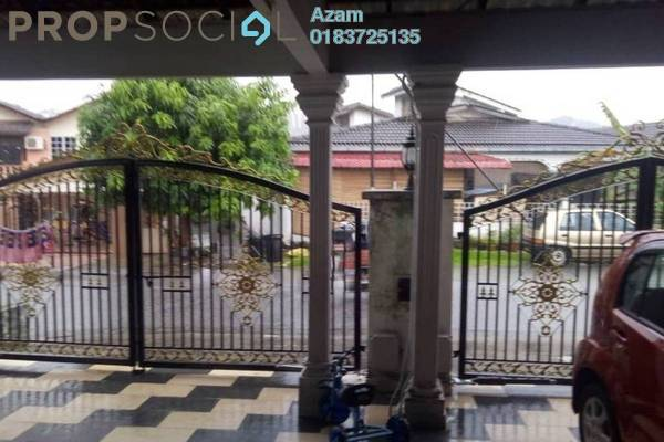 For Sale Terrace at Taman Keramat, Setiawangsa Freehold Semi Furnished 4R/3B 820k