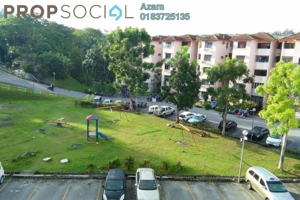 For Sale Apartment at Ukay Perdana, Ukay Freehold Semi Furnished 3R/2B 259k