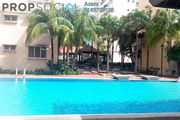 For Sale Condominium at Puncak Nusa Kelana, Ara Damansara Freehold Unfurnished 4R/3B 555k