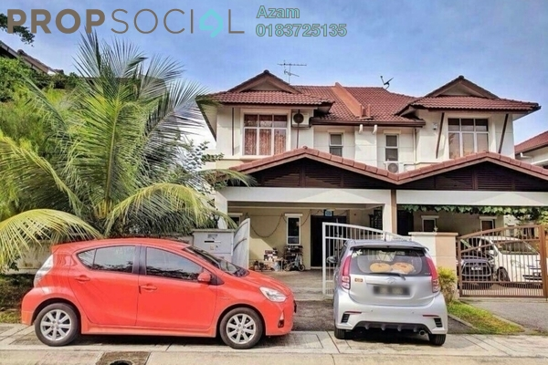 For Sale Semi-Detached at Puncak Perdana, Shah Alam Freehold Fully Furnished 4R/3B 650k