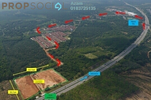 For Sale Land at Kampung Pedas Hilir, Negeri Sembilan Freehold Unfurnished 0R/0B 3.8m