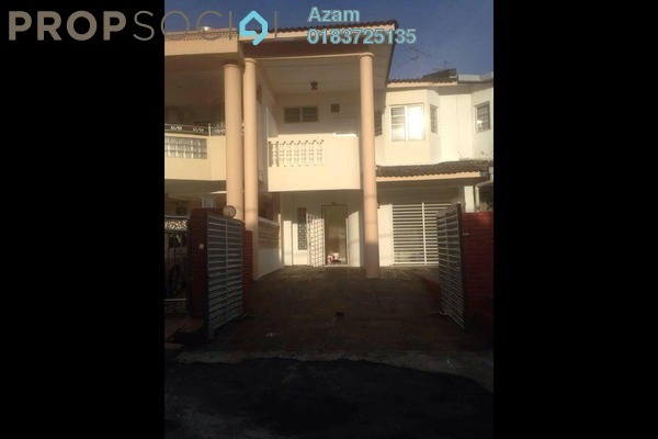 For Sale Terrace at Taman Bukit Desa, Kepong Freehold Semi Furnished 4R/3B 700k