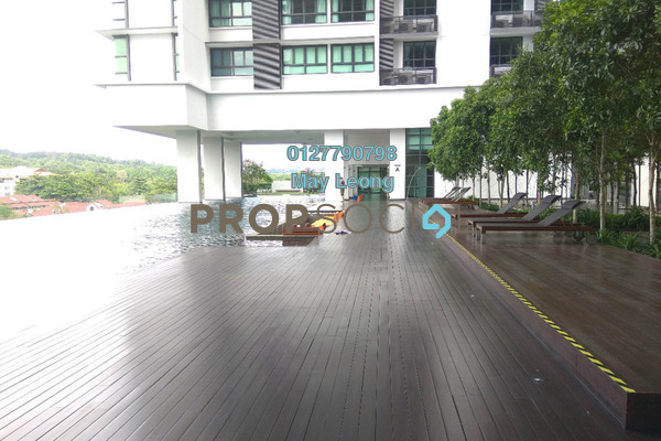 For Rent Condominium at The Greens, TTDI Freehold Semi Furnished 2R/0B 6.5k