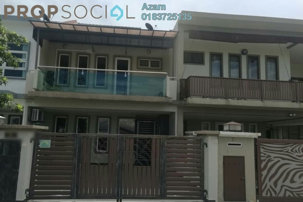 For Sale Terrace at Sierra 8, 16 Sierra Freehold Semi Furnished 4R/4B 820k