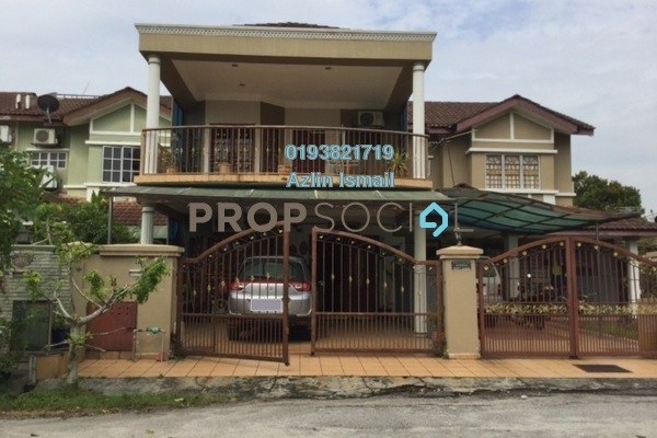 For Sale Terrace at Bandar Saujana Utama, Sungai Buloh Freehold Semi Furnished 4R/3B 450k