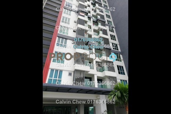 For Sale Serviced Residence at Silk Residence, Bandar Tun Hussein Onn Freehold Unfurnished 3R/2B 339k