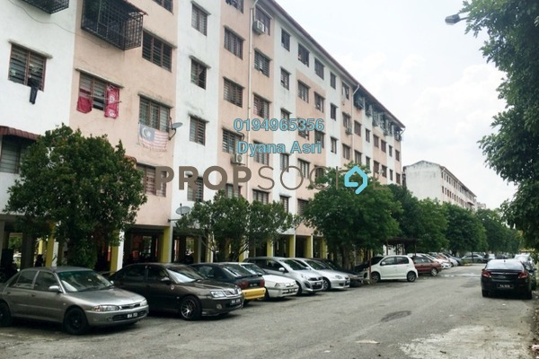 For Rent Apartment at PKNS Seksyen 7 Flat, Shah Alam Freehold Fully Furnished 3R/2B 860translationmissing:en.pricing.unit