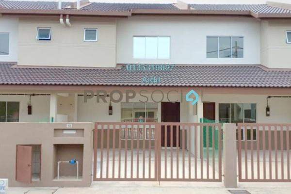 For Rent Terrace at Desiran Bayu, Puchong Freehold Unfurnished 4R/3B 1.3k