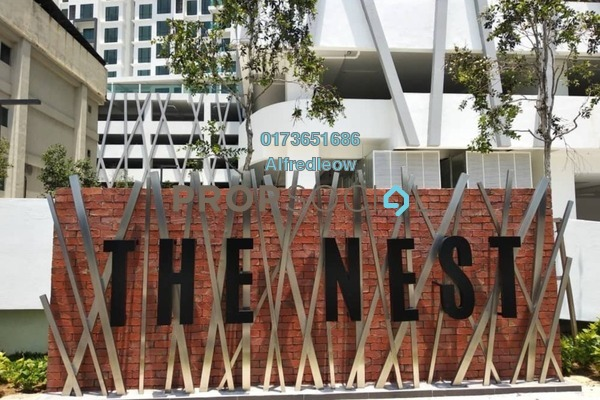 For Rent Condominium at The Nest, Setapak Freehold Semi Furnished 2R/2B 2k