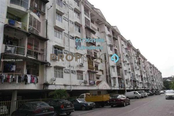 For Rent Apartment at Taman Pusat Kepong, Kepong Freehold Semi Furnished 3R/2B 850translationmissing:en.pricing.unit