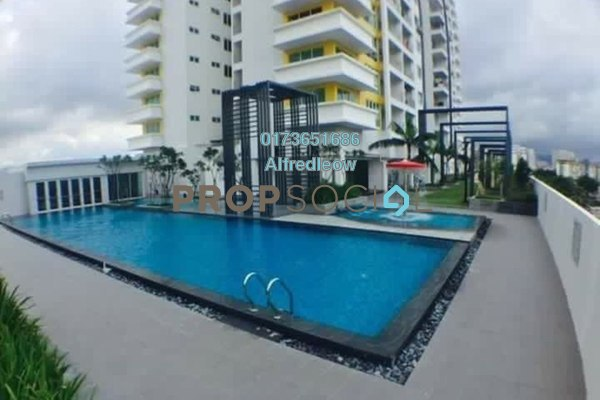 For Rent Condominium at Bayu Sentul, Sentul Freehold Semi Furnished 4R/3B 1.7k