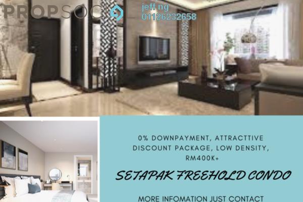 For Sale Condominium at Residensi Platinum Teratai, Kuala Lumpur Freehold Semi Furnished 3R/2B 380k