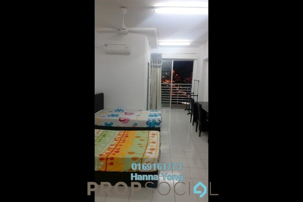 For Sale SoHo/Studio at Menara Rajawali, Subang Jaya Leasehold Fully Furnished 0R/1B 310k
