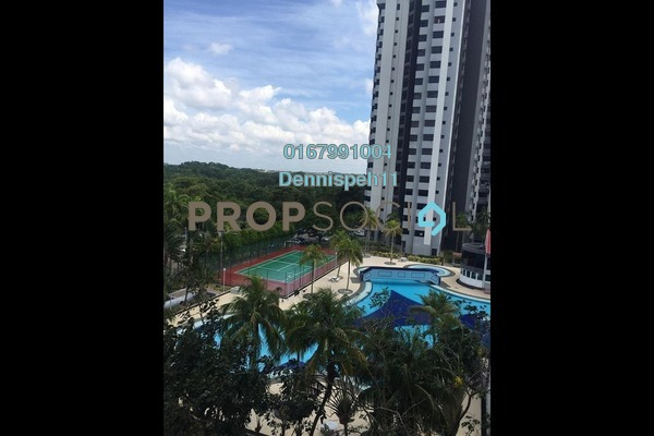 For Rent Condominium at Mewah View Luxurious Apartment, Johor Bahru Freehold Semi Furnished 3R/2B 1.3k