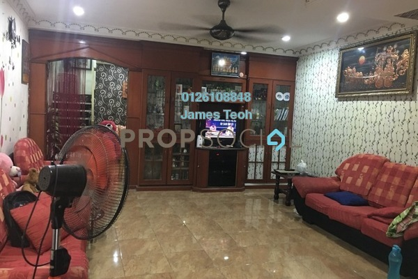 For Sale Terrace at Taman Sentosa, Klang Freehold Semi Furnished 3R/3B 347k