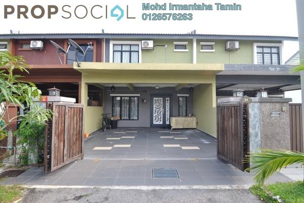 For Sale Terrace at Saujana Rawang, Rawang Freehold Semi Furnished 4R/3B 450k