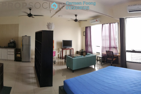 For Rent Condominium at Flexis @ One South, Seri Kembangan Freehold Fully Furnished 0R/1B 1.5k