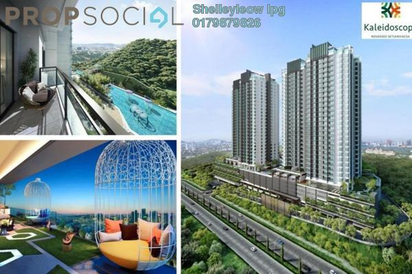For Sale Condominium at Kaleidoscope, Setiawangsa Freehold Semi Furnished 3R/2B 599k