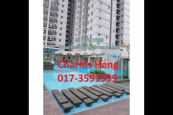 For Rent Condominium at Maxim Residences, Cheras Freehold Unfurnished 3R/3B 1.4k
