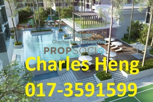 For Rent Condominium at Maxim Residences, Cheras Freehold Fully Furnished 2R/2B 1.6k