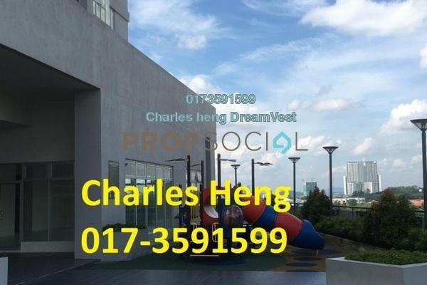 For Rent Condominium at Maxim Residences, Cheras Freehold Semi Furnished 2R/2B 1.15k