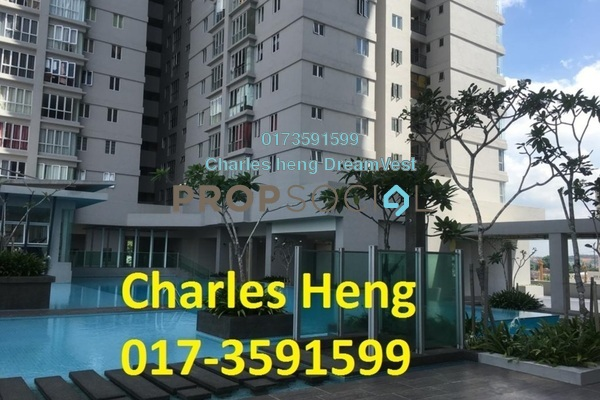 For Sale Condominium at Maxim Residences, Cheras Freehold Semi Furnished 2R/2B 400k