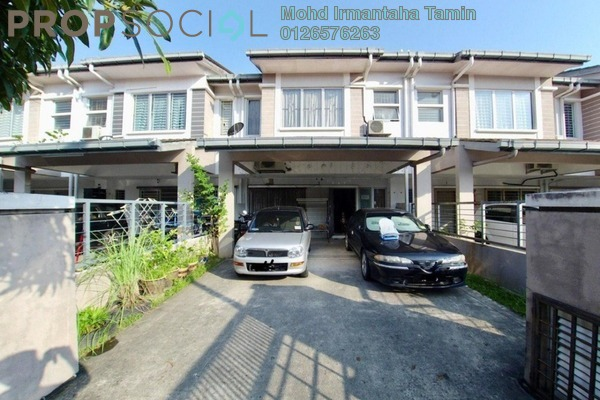 For Sale Terrace at Lagoon Homes, Kota Kemuning Freehold Semi Furnished 5R/4B 830k