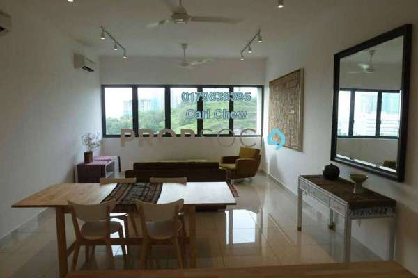 For Rent Condominium at Mirage By The Lake, Cyberjaya Freehold Fully Furnished 2R/2B 2.2k
