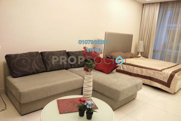 For Rent Serviced Residence at Cliveden, Sri Hartamas Freehold Fully Furnished 0R/1B 1.7k
