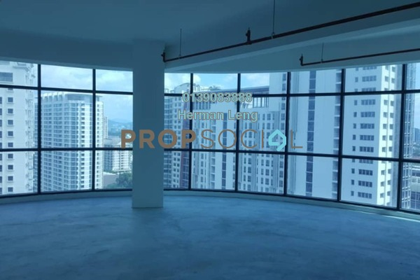 For Rent Office at Kiara 163, Mont Kiara Freehold Unfurnished 0R/0B 3k