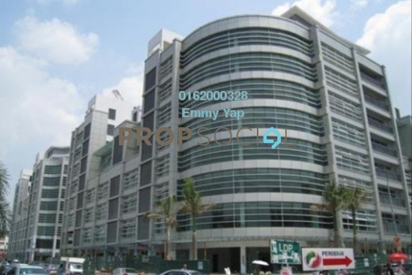For Sale Office at IOI Boulevard, Bandar Puchong Jaya Freehold Semi Furnished 0R/1B 790k