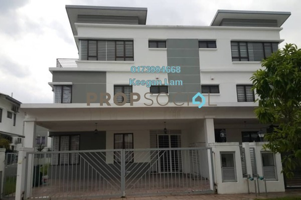 For Rent Semi-Detached at Saujana Palma Residences , Kajang Freehold Semi Furnished 5R/5B 2.5k