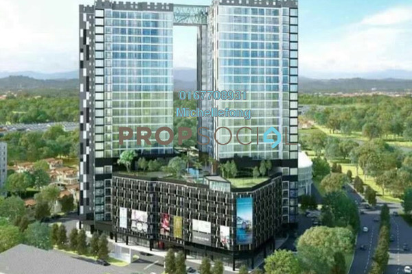 For Sale Serviced Residence at G Residence, Johor Bahru Freehold Unfurnished 2R/2B 399k