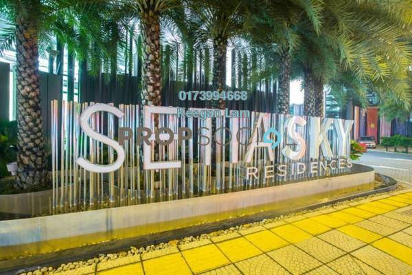 For Rent Condominium at Setia Sky Residences, KLCC Freehold Fully Furnished 2R/3B 3.4k