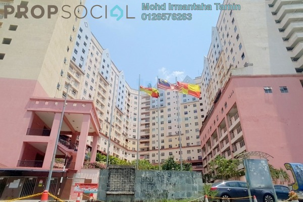 For Sale Apartment at Brunsfield Riverview, Shah Alam Freehold Unfurnished 2R/2B 270k