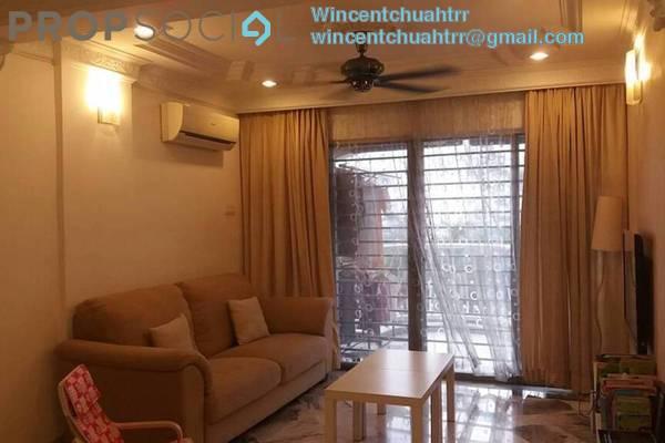 For Sale Condominium at Sri Ledang, Wangsa Maju Freehold Semi Furnished 4R/2B 468k
