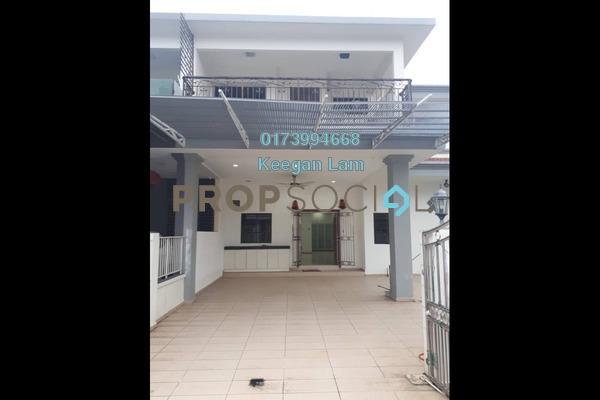 For Rent Superlink at Happy Garden, Old Klang Road Freehold Semi Furnished 5R/4B 3.5k