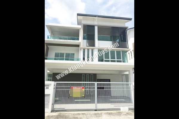 For Sale Bungalow at Ambang Botanic 2, Klang Freehold Unfurnished 6R/7B 3.8m