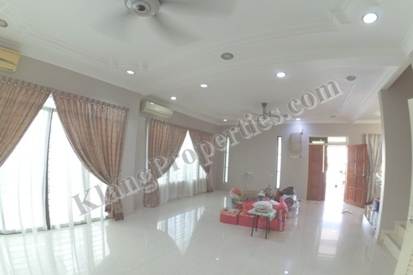 For Sale Semi-Detached at Bandar Bukit Tinggi 2, Klang Freehold Semi Furnished 4R/4B 1.58m