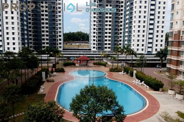 For Rent Condominium at De Centrum Unipark Condominium, Kajang Freehold Fully Furnished 3R/2B 1.5k