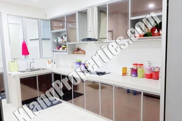For Sale Terrace at Bandar Parklands, Klang Freehold Fully Furnished 4R/3B 720k