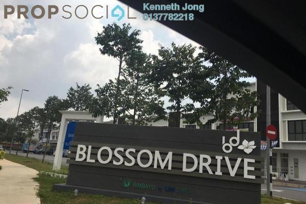 For Rent Shop at Blossom Square, Bandar Rimbayu Freehold Unfurnished 0R/6B 10k