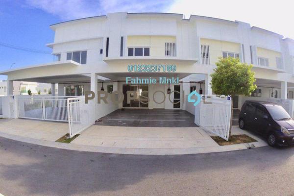 For Sale Terrace at Suriaman 3, Bandar Sri Sendayan Freehold Unfurnished 4R/4B 550k